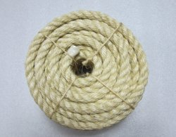 Sisal Rope Twisted Oiled / Unoiled