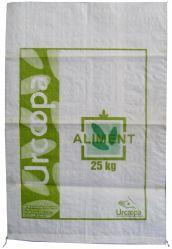 Bolsa de tejido de polipropileno de 25kgs/bolsa tejida PP a la harina/PP saco tejido