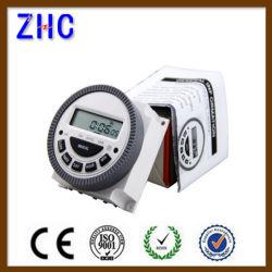 12V 16A 168 時間 LCD デジタル電源プログラマブルタイマー時間スイッチリレー