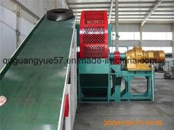 Completamente automática máquina de reciclaje de neumáticos usados para la fabricación de caucho de la miga