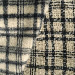 Шерстяные ткани шерстяной проверить флис для одежды костюм ткань одежды ткань текстильная ткань