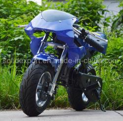 Зеленый и безопасный 49cc Pit Bike мотоцикл грязь на велосипеде