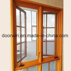 Америки дверная рама перемещена и тент окно со складной рукоятки кривошипа, окна с наружным Алюминиевая оболочка