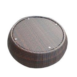 Móveis de vime exterior Pumkin Rotim mesa de café (S07-44)