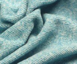 Fournisseur pour Bébé doux 100% polyester Couleur personnalisée Simple Double côté teints veste polaire polaire tissu de mélange