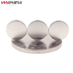 Sterke Magnetische Materiële NdFeB Magneet, de Permanente Magneet van het Neodymium van de Schijf van de Zeldzame aarde