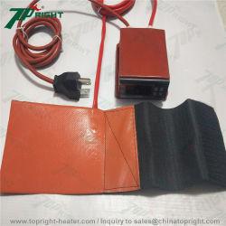 SyringsのためのデジタルPidコントローラの暖房が付いている120V100Wシリコーンの熱のパッド