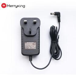 De Opgezette 220V 230V Stop van BS Muur in AC gelijkstroom de Adapter 9V 4A van de Macht met Verklaard Ce van het CITIZENS BAND