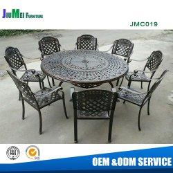 Для использования вне помещений из литого алюминия, обеденный стол и стул мебель из литого алюминия (СВК019)