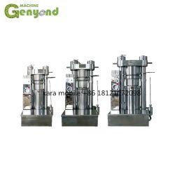 油圧足車の麻の冷たい出版物オイルの抽出のオリーブ油押す機械