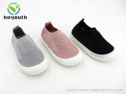 Injecção de PVC Flyknit único calçado de criança China Ys19-XL-03