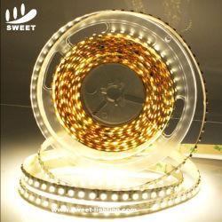 Alto brilho de 120 LEDs/M 7.6W flexível SMD 12V 3528 Tira de LED para luz de gabinete