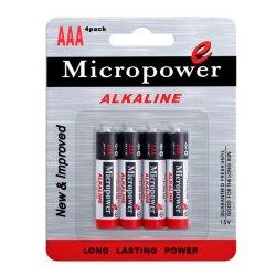 공장은 직접 알카리 전지 AAA/Lr03를 공급한다