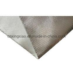 550 graus centígrados tecido de fibra de vidro revestidos de alumínio 1000/1200/1500mm revestidas de um lado