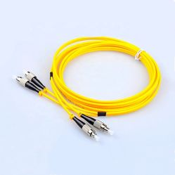Modo único Szadp Simplex multimodo de fibra óptica duplex patch cord