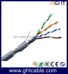 Сетевой кабель или кабель локальной сети для использования внутри помещений SFTP Cat5e медный кабель