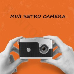 Lindo Mc35 5MP 1,5 pulgadas de pantalla HD de 1080p mini cámara digital de mano Retro