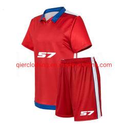 Breathable Fußball-Verein Unifrom Kugel-Jersey-Sportkleidung-Fußball-/Fußball-Jersey-Klage-Fußball-T-Shirt und Kurzschlüsse mit spätestem Entwurf