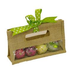 Рекламные материалы для переработки джута Продуктовый пакет для упаковки фруктов