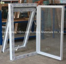 La parte superior de la ventana de PVC Vinly UPVC ventana Awing colgado con alta calidad Accesorios