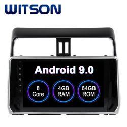 Auto-DVD-Spieler des Witson Android-9.0 mit GPS für ToyotaPrado 4GB RAM 64GB grellen grossen Bildschirm 2018 im Auto-DVD-Spieler