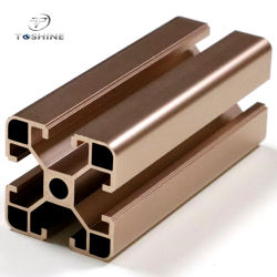 L'extrusion en aluminium anodisé de métal Assembly Line Profil en aluminium