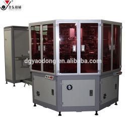 自動管のペン4カラー回転式スクリーンプロセス印刷機機械