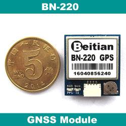 Beitian, petite taille, 3,0 V-5.0V, niveau TTL, 9600bps, NMEA 0183 GNSS Module Module GPS, Glonass, construit en flash, BN-220