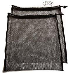 Deporte al aire libre grandes bolsas de material de malla