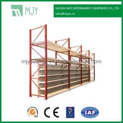 Integrado de metal de supermercados y almacenes de palets almacenamiento Rack