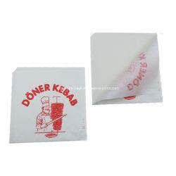 Commerce de gros du pain de boulangerie de Papier Kraft couché Sac Kebab