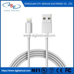 Mfi certifié à usage intense longue tresse de câble du chargeur de foudre pour iPhone 6 7 8 de l'air de l'iPad