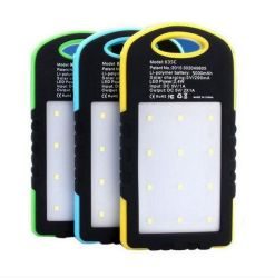 Carregador Solar inteligente/ Power Bank/Carregador Solar para carregamento exterior