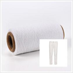 20s (NM34)ジーンズファブリックデニムのためのリサイクルされたヤーンを回す環境に優しい再生された綿の糸の開放端