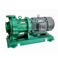 Resistente a la corrosión de alta eficiencia PP/PTFE/FEP/PFA Ácido sulfúrico bomba magnética
