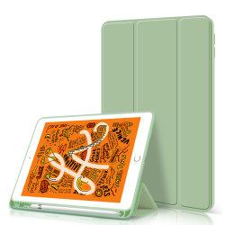 iPad를 위한 내진성 방어적인 PU 가죽 상자 연필 홀더를 가진 9.7 인치 여섯번째 발생