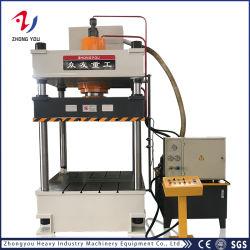 Zhongyou Double Action Desenho profunda Prensa Hidráulica/Carregar a máquina com Die almofada para utensílios de cozinha/Dissipador/Automotive Interior/Metal