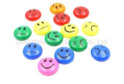 OEM многоцветное пластиковые раунда перед лицом сильные магнитные доски вытолкните штифты
