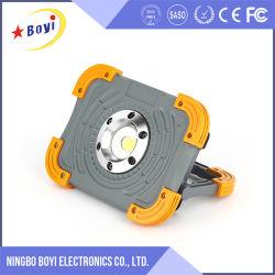 10W rechargeable Lampe de travail portatif de plein air Projecteur à LED