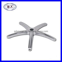 Meubles de qualité des accessoires matériels moulage sous pression en alliage aluminium fauteuil canapé jambes Bases pour les pièces de bureau