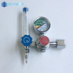 Commerce de gros 150bar de pression d'oxygène thérapeutique régulateur avec humidificateur et débitmètre