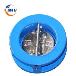 """3"""" DN80 Вафельной двойные двери проверьте клапан Pn16 DH77X Di корпус из нержавеющей стали 304 диска пружина штока EPDM прокладкой"""