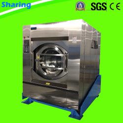 50kg, strumentazione commerciale di inclinazione completamente automatica industriale della lavatrice della lavanderia dell'estrattore della rondella 100kg per l'hotel e l'ospedale Using