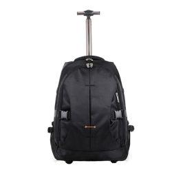 Curso de Nylon Multifunção leve Saco mochila trolley com rodas
