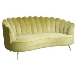 Usado moderno mobiliário Hotel Sala estilo italiano sofá de tecido