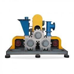 Tres molinos de rodillo máquina de revestimiento en polvo de la modificación de la superficie de la máquina para el carbonato de calcio/silicio/Cenizas volantes/Grafito/carbono negro/Quartz