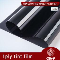 Окно фильм 1клея ply оттенок Professional автомобильного стекла пленки Vlt 5%~70% УФ99%