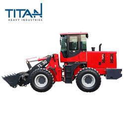 Titanhi TL30 3.0T pesado cargadora de ruedas compactas con cabina