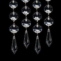 Accueil de gros de l'artisanat Don d'entreprise de décoration de mariage de vacances de Noël lustre de cristal perles de verre Poignée de commande