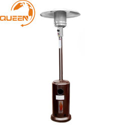 Pirámide de tubo de vidrio caliente Venta de Patio de la mesa al aire libre Jardín Calefacción de gas del calentador de llama de gas